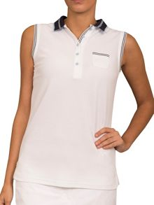 Cara sleeveless club shirt