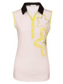 Green Lamb Catrina sleeveless star shirt
