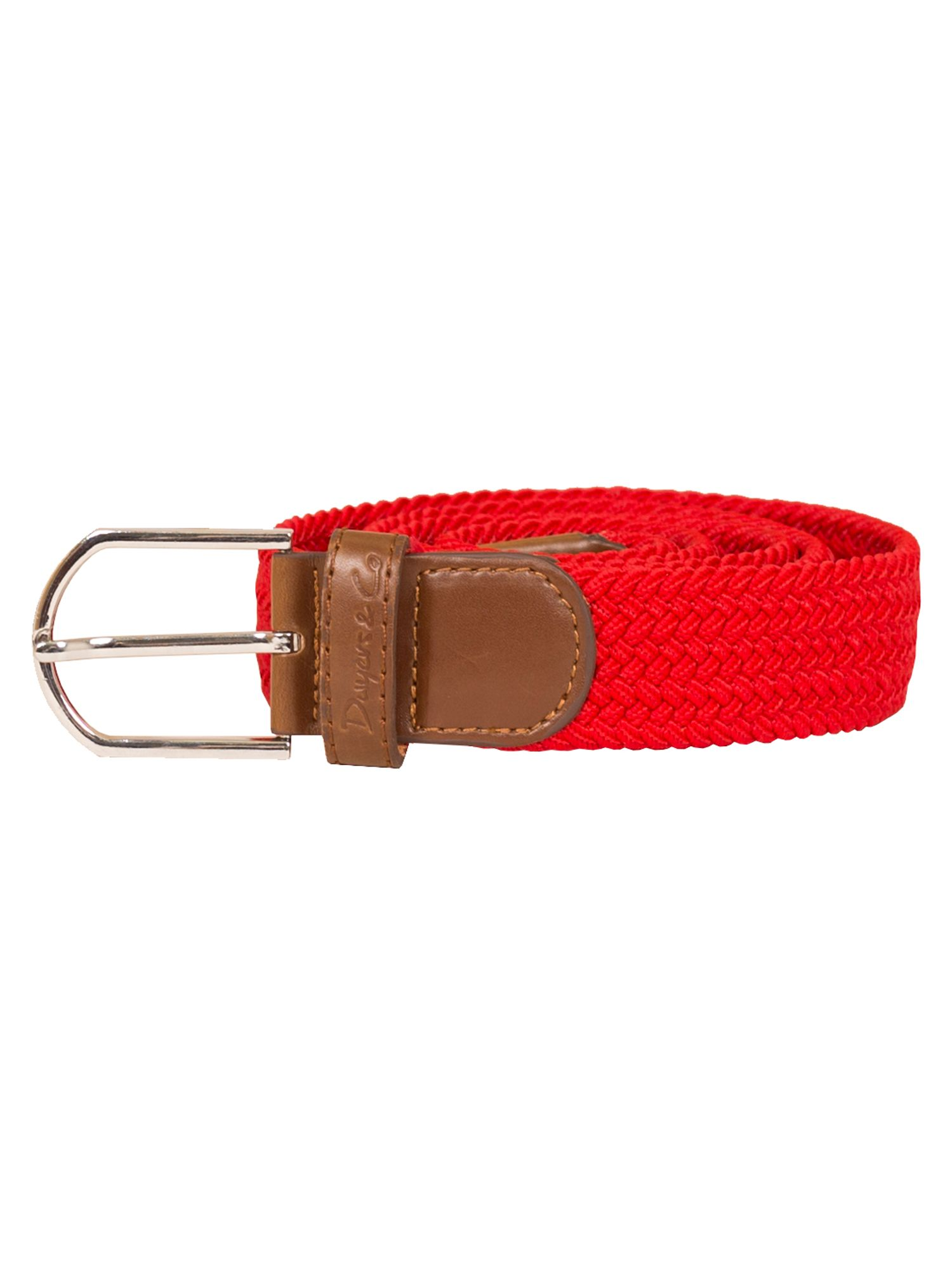 Dwyers and Co Dwyers and Co Woven Belt, Red