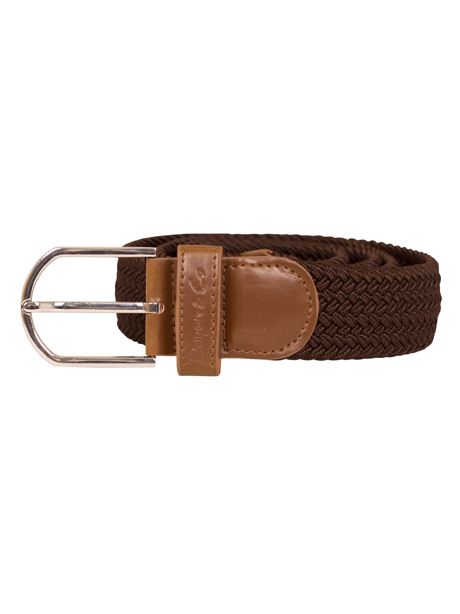 Dwyers and Co Dwyers and Co Woven Belt, Brown