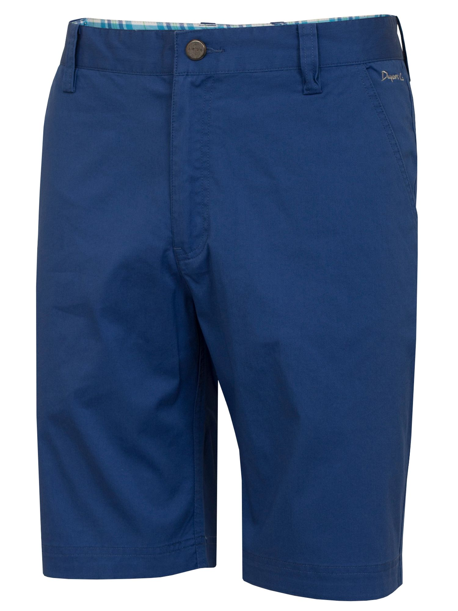 Dwyers and Co Men's Dwyers and Co Titanium Chino Shorts, Cobalt
