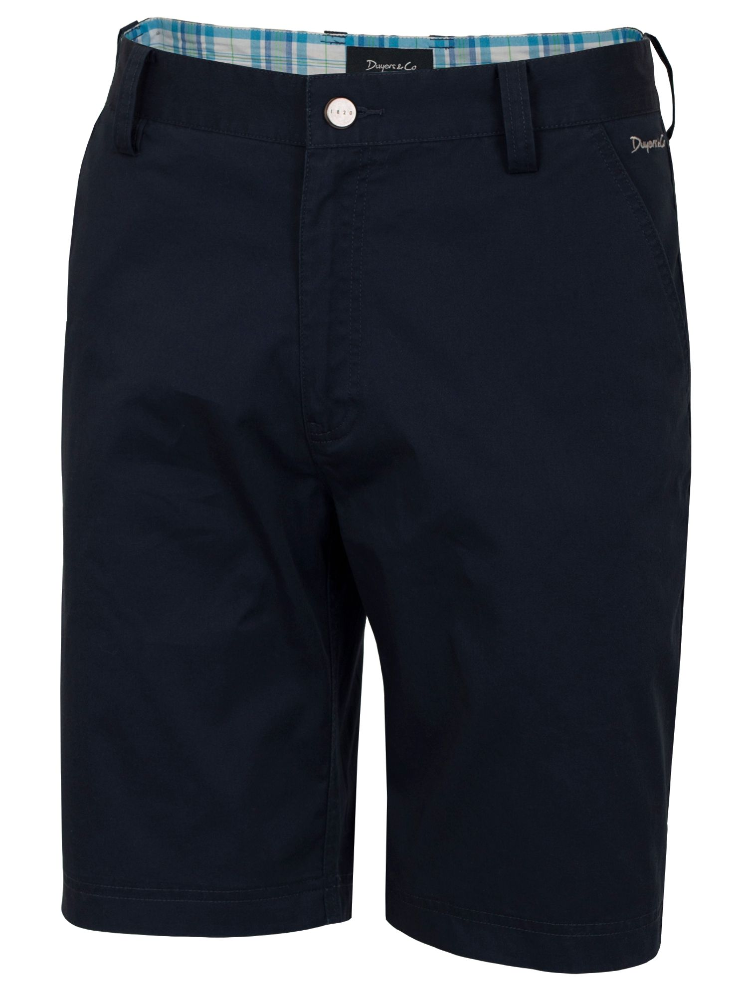 Dwyers and Co Men's Dwyers and Co Titanium Chino Shorts, Navy