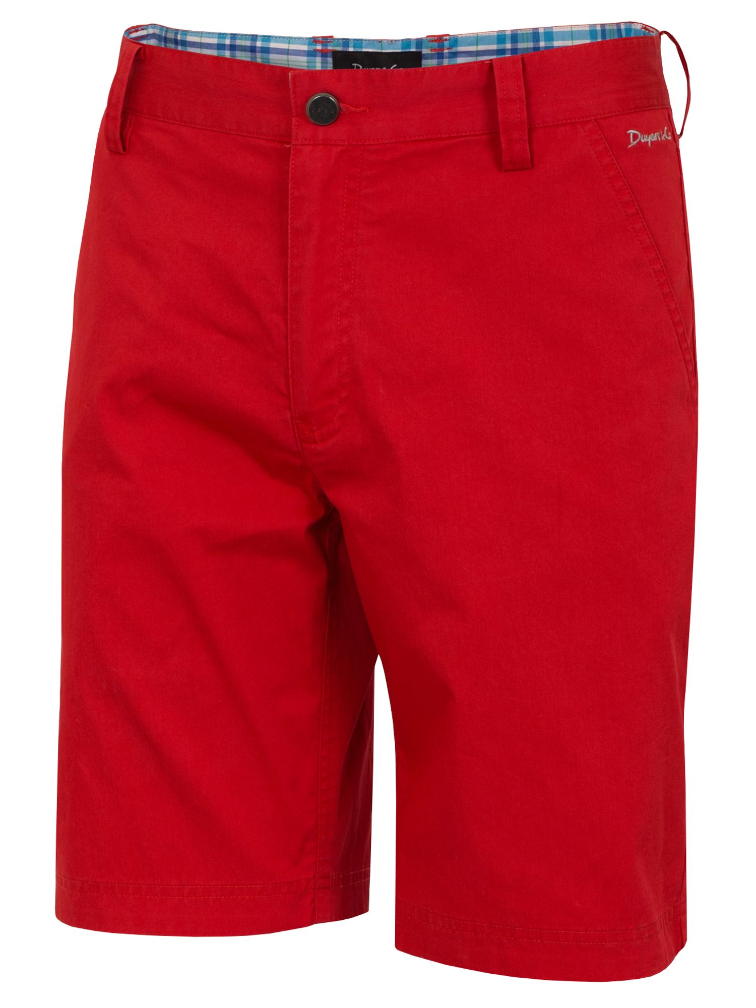 Dwyers and Co Men's Dwyers and Co Titanium Chino Shorts, Red