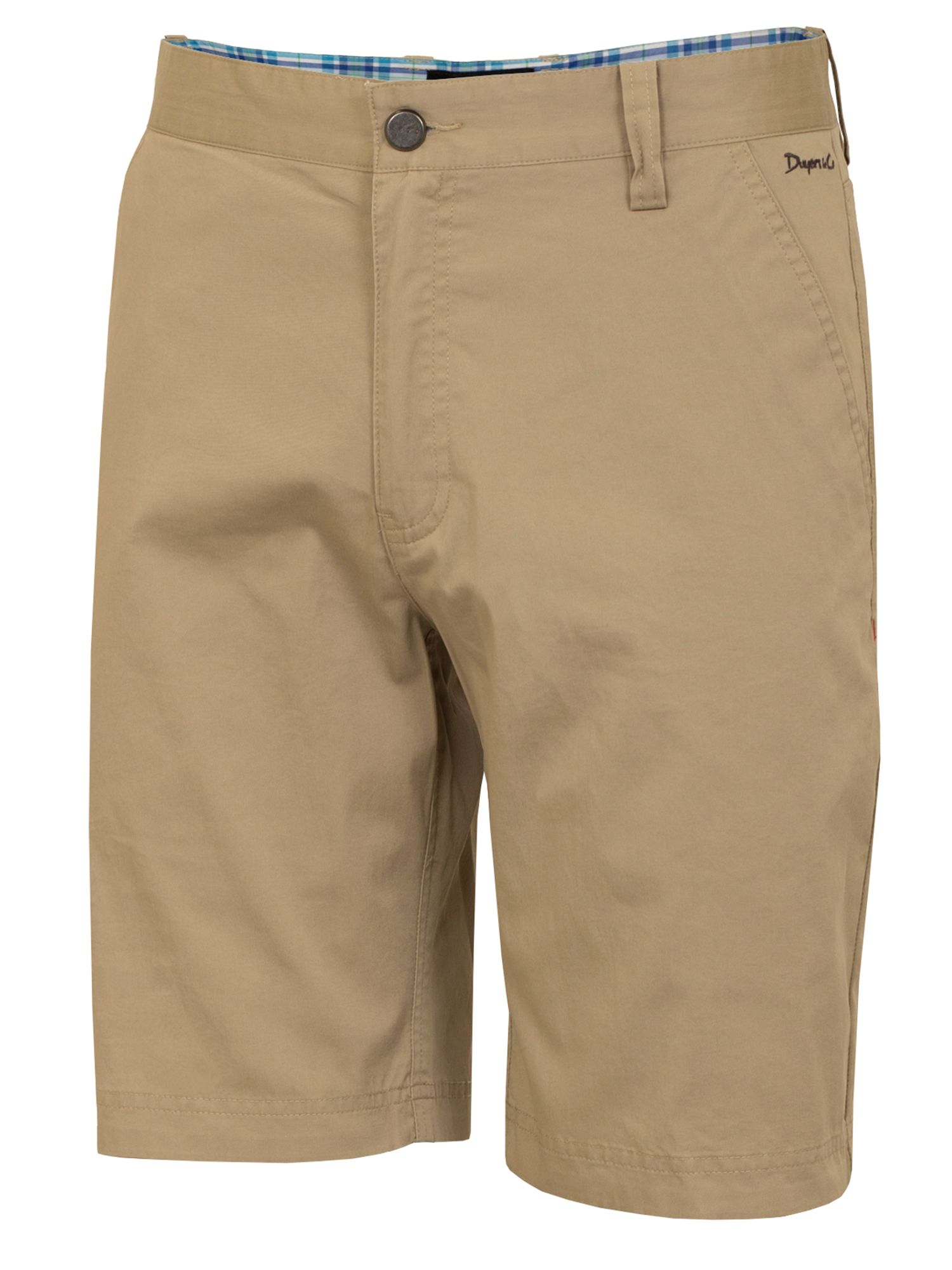 Dwyers and Co Men's Dwyers and Co Titanium Chino Shorts, Beige