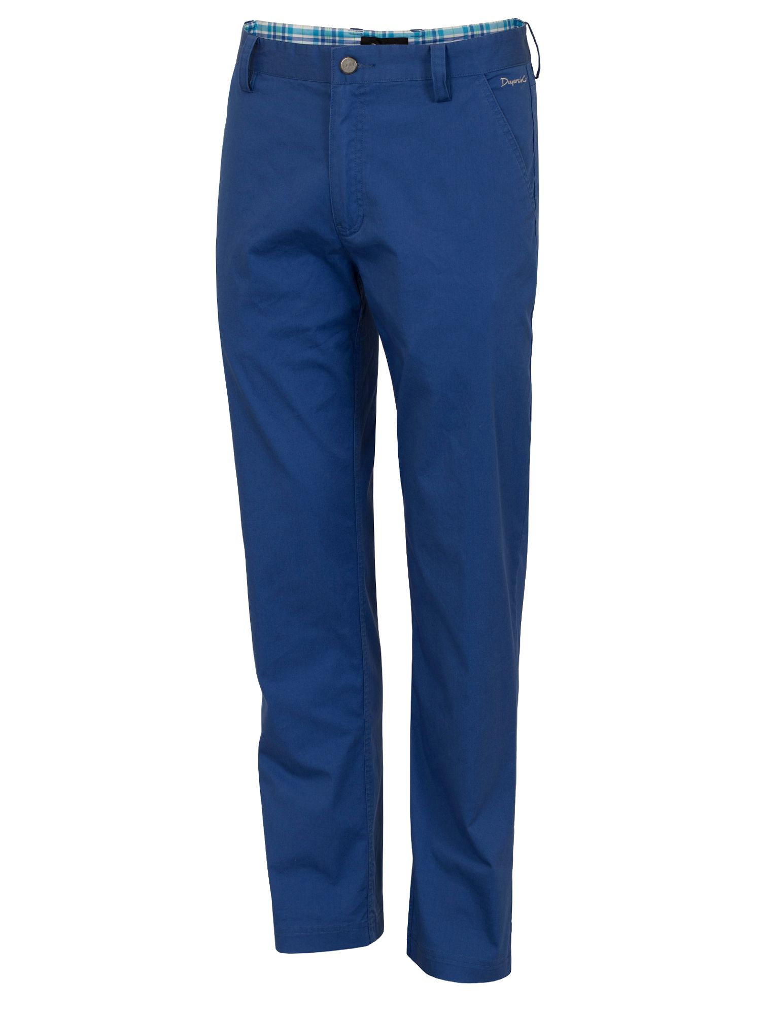 Dwyers and Co Men's Dwyers and Co Titanium chino trouser, Blue