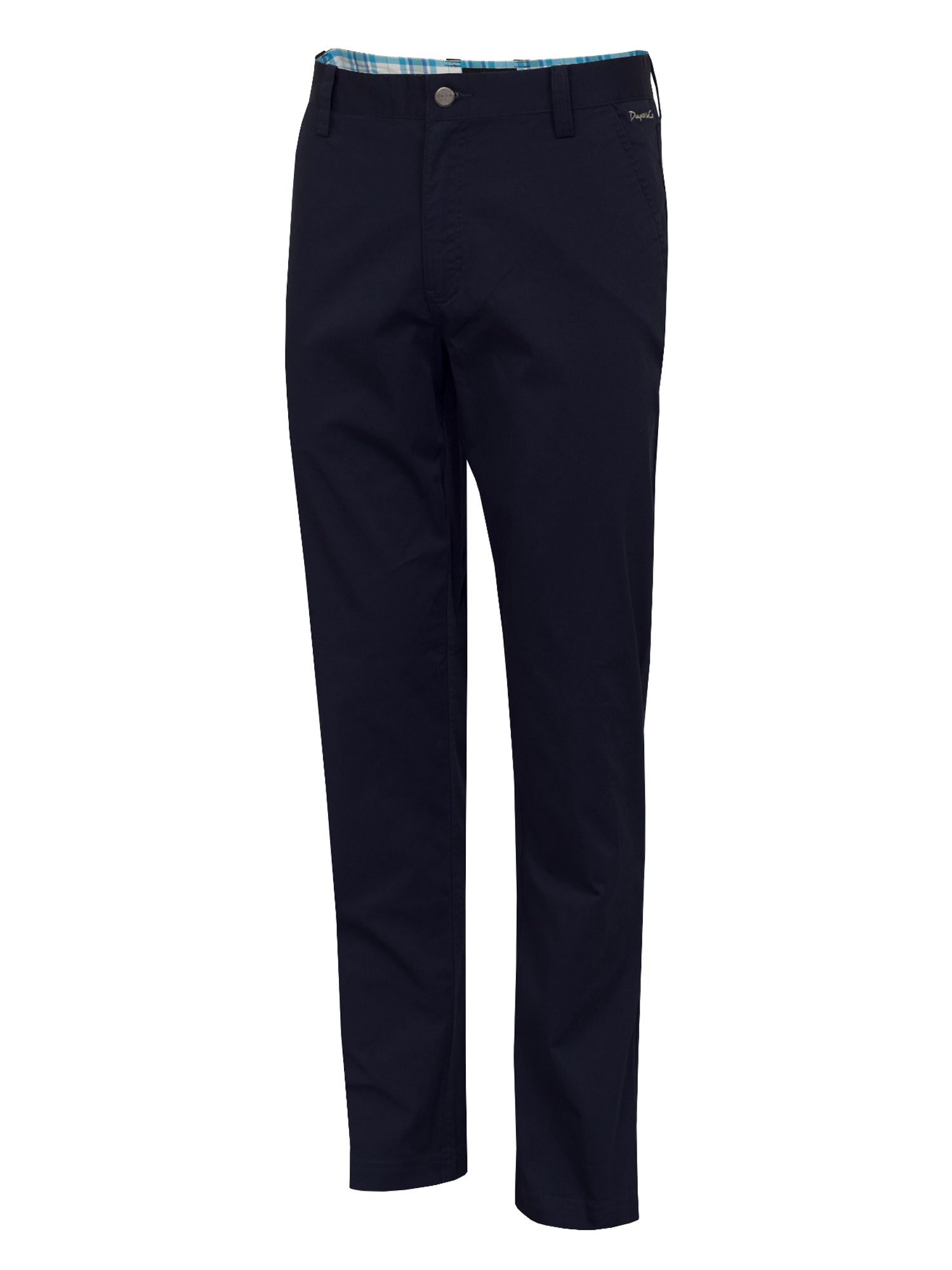 Dwyers and Co Men's Dwyers and Co Titanium chino trouser, Navy