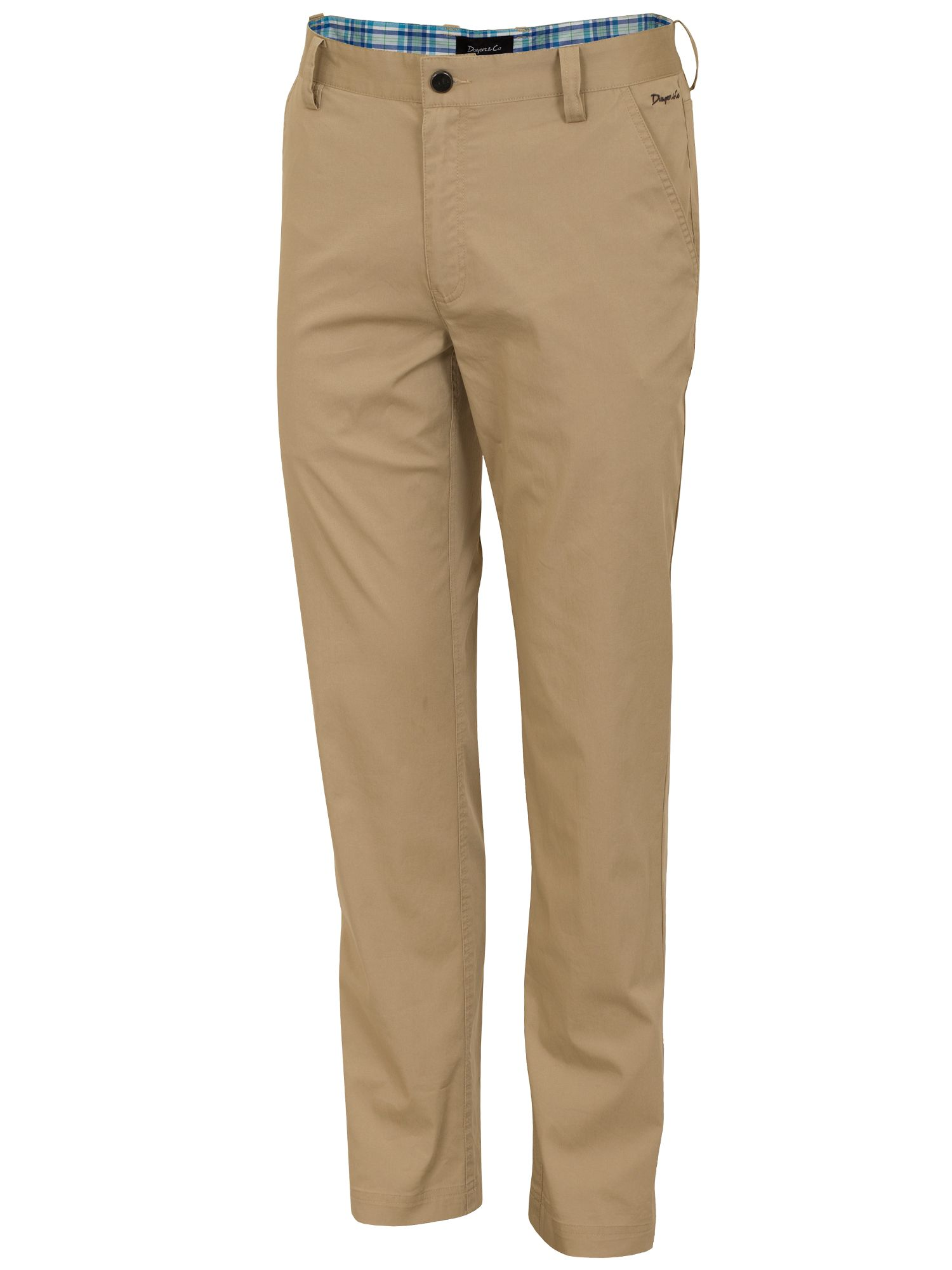 Dwyers and Co Men's Dwyers and Co Titanium chino trouser, Beige
