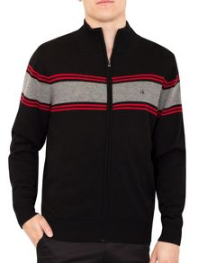 Calvin Klein Golf Full Zip Lined Sweater