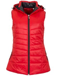 Calvin Klein Golf Hooded padded gilet