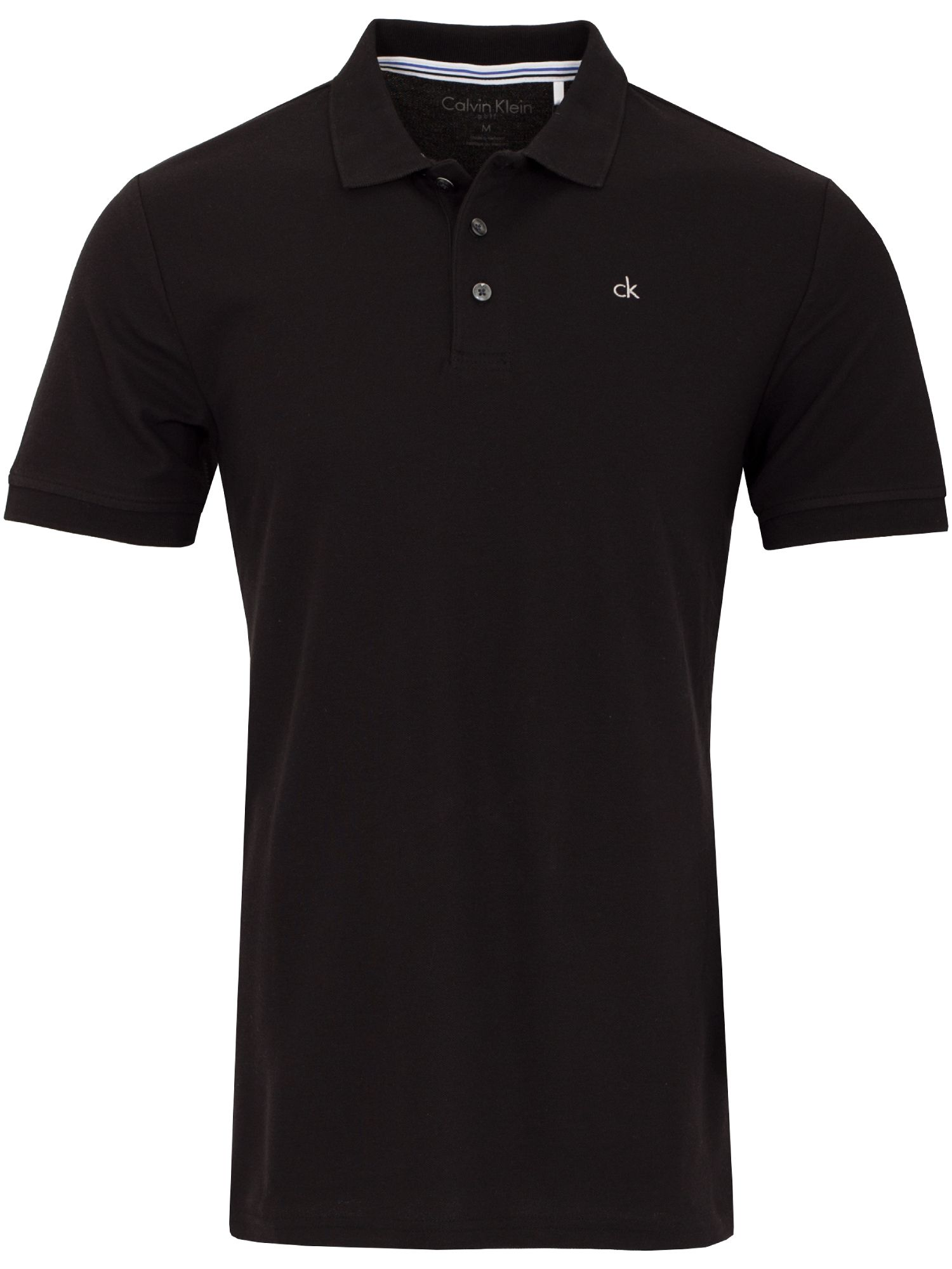 Men's Calvin Klein Golf Midtown Radical Cotton Polo, Black