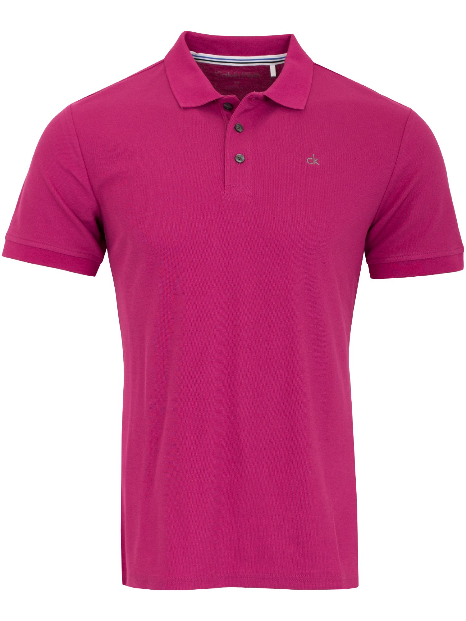 Men's Calvin Klein Golf Midtown Radical Cotton Polo, Raspberry