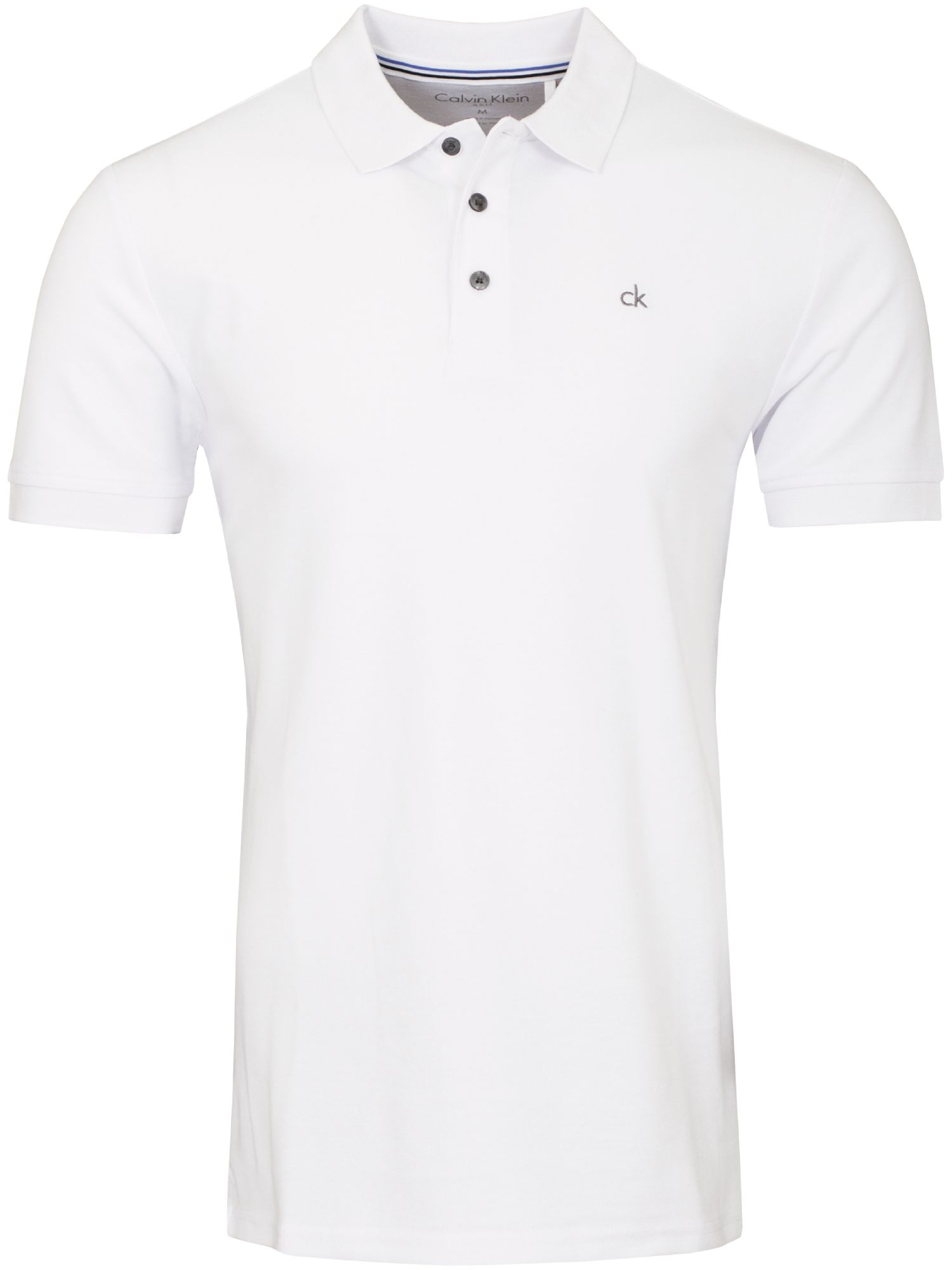 Men's Calvin Klein Golf Midtown Radical Cotton Polo, White