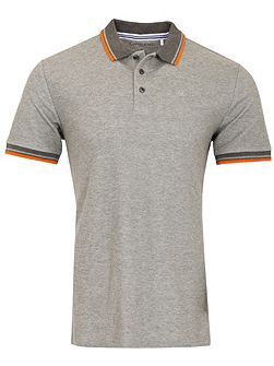 Men's Calvin Klein Golf Stripe Collar Pique Polo