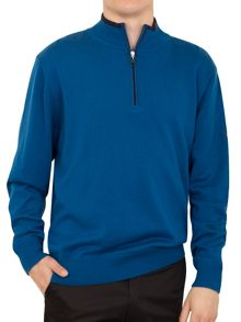 Cutter and Buck Zip neck lined sweater