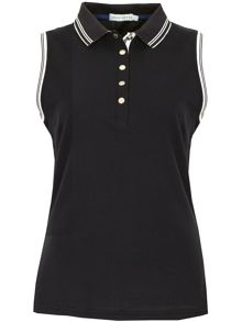 Green Lamb Cory Sleeveless Club Polo