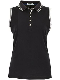Cory Sleeveless Club Polo