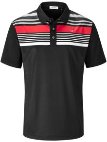Calvin Klein Golf Multi Stripe Polo