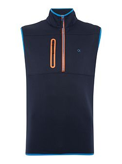 Half Zip Performance Gilet