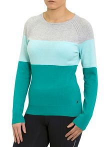 Calvin Klein Golf Colour Block Sweater