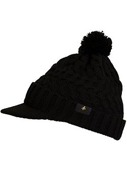 Donna Cable Peaked Hat