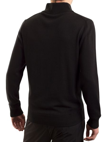 Calvin Klein Golf Ribbed Lined Sweater