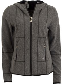 Calvin Klein Golf Hooded Fleece Jacket