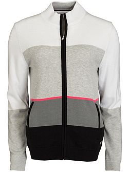 Colour Block Lined Cardigan