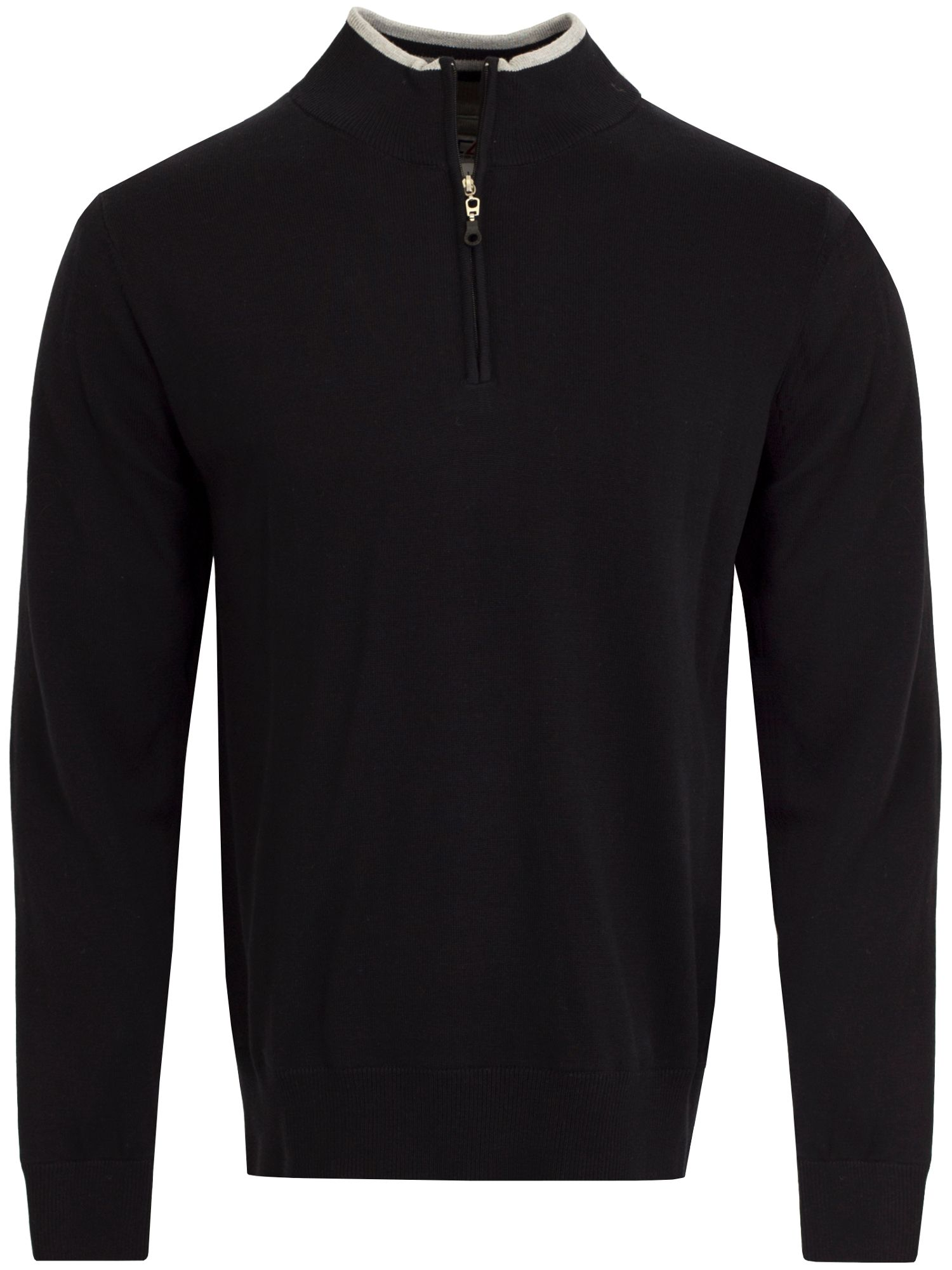 Cutter and Buck Men's Cutter and Buck Vancouver WindBlock Sweater, Black