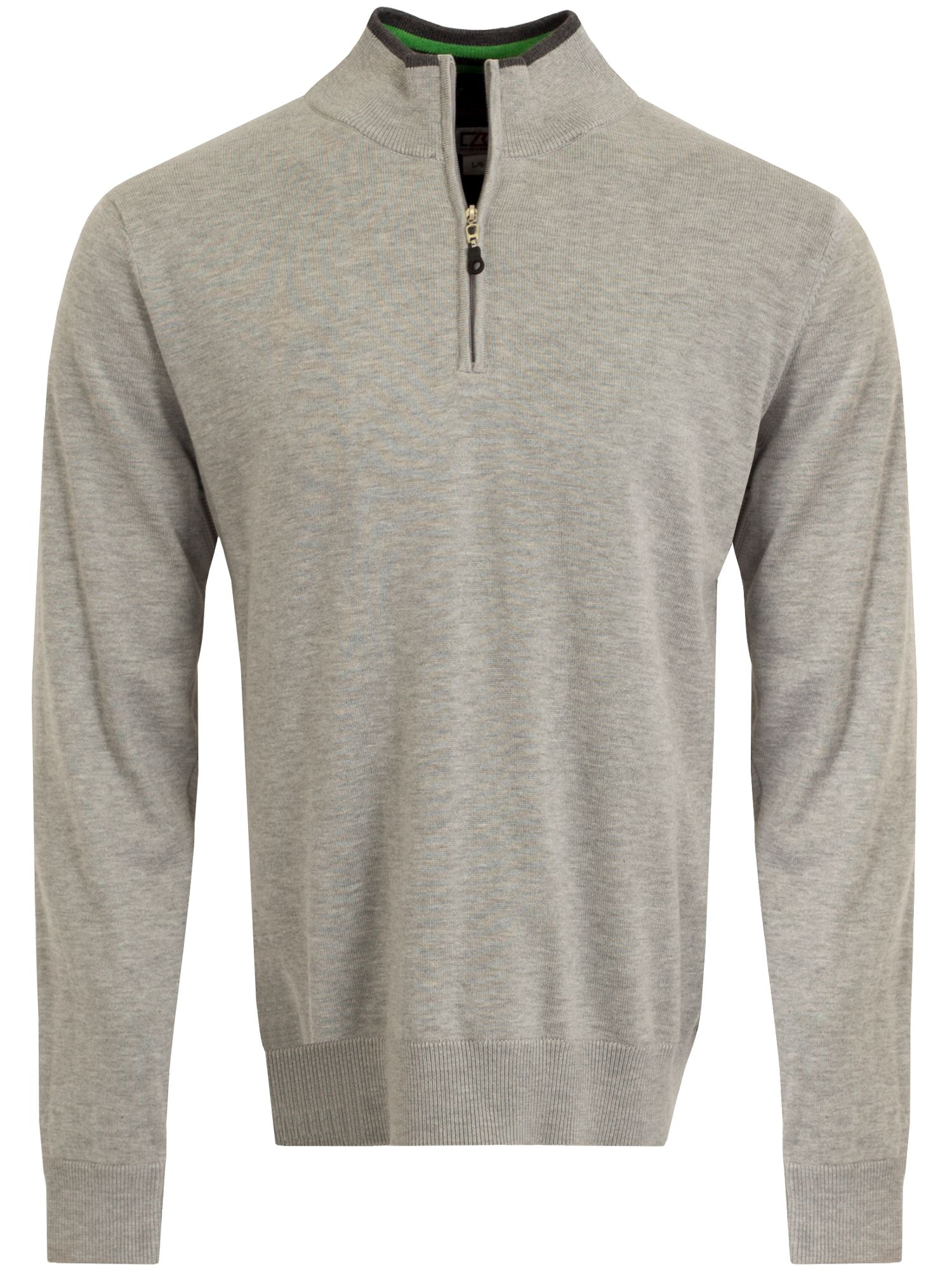 Cutter and Buck Men's Cutter and Buck Vancouver WindBlock Sweater, Silver