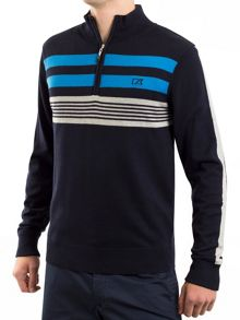 Cutter and Buck Newport WindBlock Sweater
