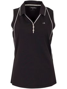 Calvin Klein Golf Racer Back Polo