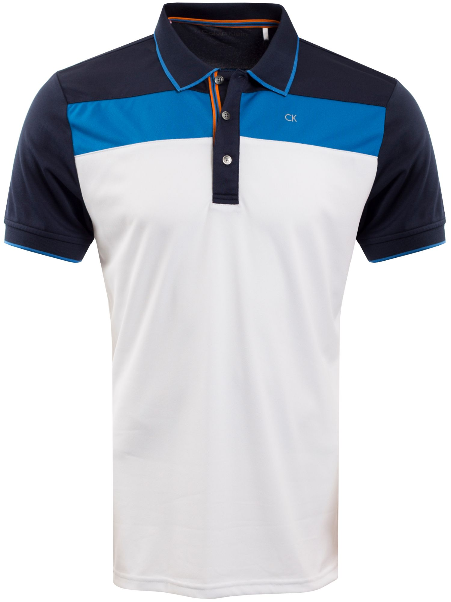 Men's Calvin Klein Golf Street Polo, White