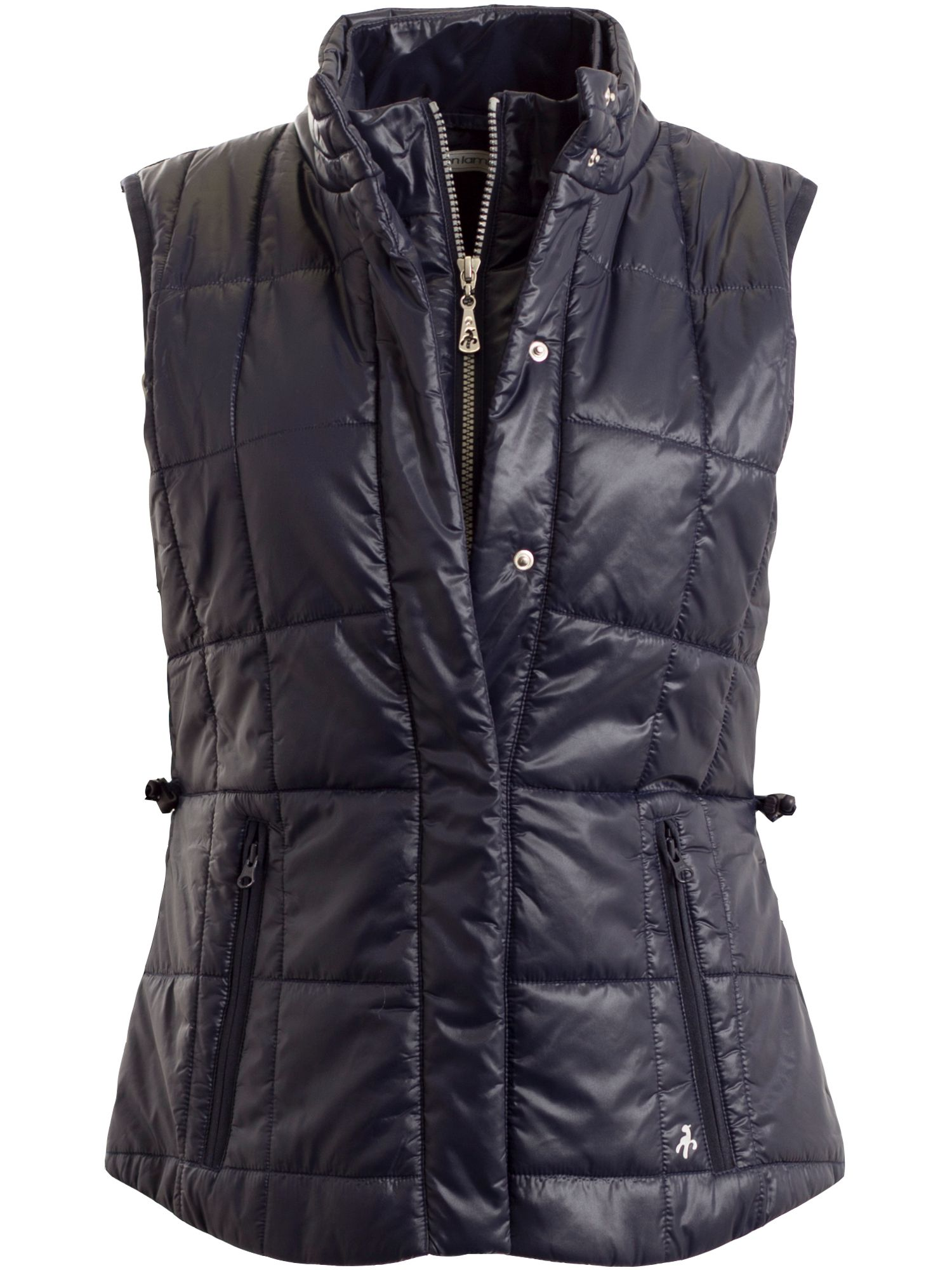 Green Lamb Jess Quilted Gilet, Blue