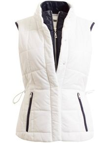 Green Lamb Jess Quilted Gilet