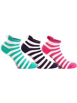 Dharma Stripe Socks - 3 Pair Pack