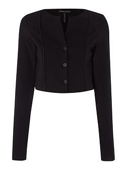 Long sleeve bolero jacket