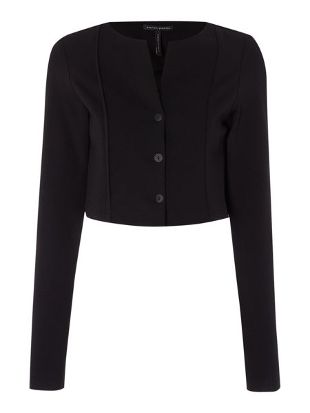 Sarah Pacini Long sleeve bolero jacket