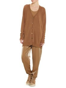 Sarah Pacini Long cardigan with long sleeves