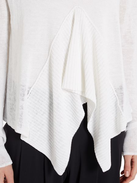 Sarah Pacini Short sweater with long sleeves
