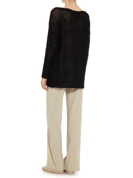 Sarah Pacini Long sweater with long sleeves
