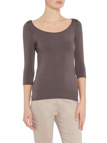 Sarah Pacini T-shirt with 3/4 sleeves - Aleisha