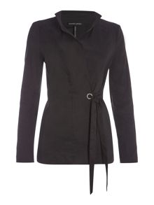 Sarah Pacini Long jacket with long sleeves