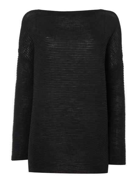 Sarah Pacini Long Loose Fit Sweater