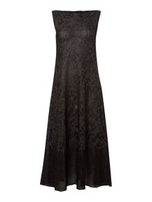 Sarah Pacini Sleeveless Maxi Dress