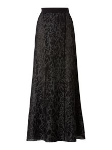 Sarah Pacini Maxi Skirt With Slit