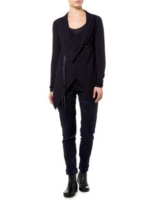 Sarah Pacini V Neck Long Cardigan