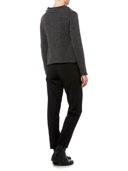 Sarah Pacini Short Cardigan With Belt