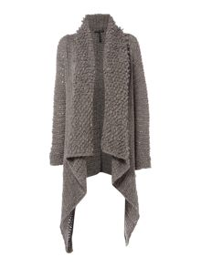Sarah Pacini Long Cardigan With Pin