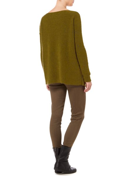 Sarah Pacini Loose Fit Long Sweater