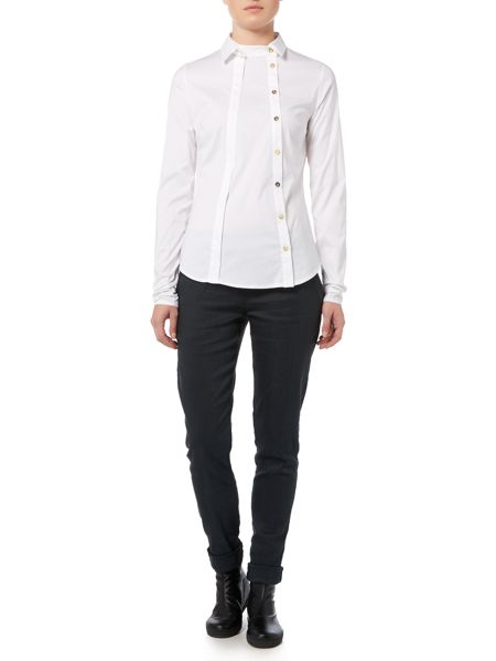 Sarah Pacini Fitted Shirt